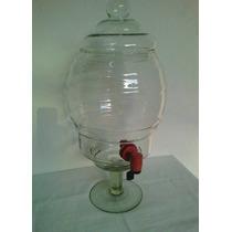 Suqueira Refresqueira Corote Barrica Vintage Vidro Bebidas