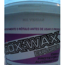 Cera Automotiva - Box Wax Explorer Roxa Box 21 - Pote 1 Kg