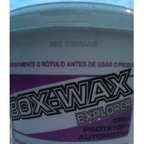 Cera Automotiva - Box Wax Explorer Roxa Box 21 - Pote 1 Kg