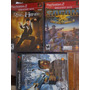 Kit - 3 Jogos Ps2 Original Novo Lacrado