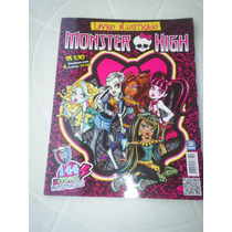 Album Monster High - Com 80 Figurinhas - Editora Deomar