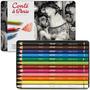 Lápis Pastel Desenho Conté Color Cj.12 Unidades *frete+barat