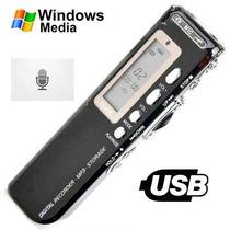 Gravador Digital De Voz Lucky   R-70 4gb   Gravaçao Telefon