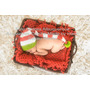 Kit Natal Manta + Touca Bebê Newborn Ensaio Fotográfico Prop