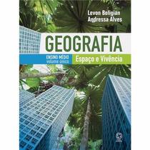 Livro Geografia Volume Único Espaço E Vivência - Ed. Atual
