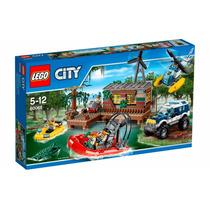 Lego 60068 City Cidade - Esconderijo Dos Ladrões - 12x
