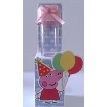 Tubete 3d Peppa Pig Aniversário Personalizado