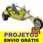 (novo) Projeto De Triciclo Motorizado Frete Grátis Exclusivo