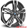 Roda Aro 17 Bmw M6 Gran Coupe - Grafite Diamantada 4x100