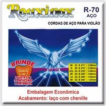 Encordamento Corda Violão Aço Rouxinol Rouxinox R-03 .011