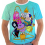 Camiseta Hora De Aventura - Jake - Finn - Adventure Time