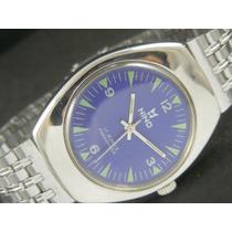 Relógio Suisso Antigo Nino 17 Rubis Coleção - Frete Grátis