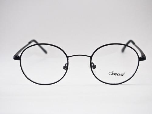 0051c55d69bdd Armação Para Óculos Smart Redonda Estilo Potter lennon Preta
