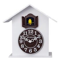 6702 - Relógio Parede Canto Passaro Cuco Novo 1 Ano G Herweg