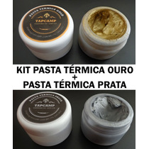 Kit Pasta Térmica Ouro ( 20g ) + Pasta Térmica Prata ( 20g )