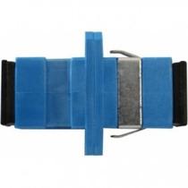 Acoplador Óptico Sc Simplex Sm Azul P/ Dio Fibra Ótica