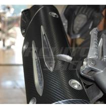 Adesivo Prot Escapamento Escape Moto Yamaha Fazer 250 > 2