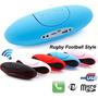 Caixa Som Bluetooth Rugby C/ 15w , Sd, Mp3, Fm, Apple, Veja!