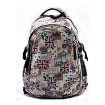 Mochila Escolar / Notebook Estampada Inglaterra Geek Rock