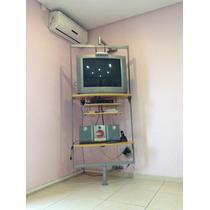 Rack Estante Rudinick Giratório Pra Tv, Micro System E Home.
