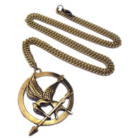 Colar Tordo Jogos Vorazes The Hunger Games Katniss Peeta