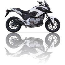 Ponteira Esportiva Nc 700 Ixil X55 Black Bombachini Motos