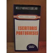 Livro Escritores Portugueses Nelly Novaes Coelho