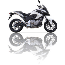 Ponteira Esportiva Nc 700 Ixil L3x Black Bombachini Motos