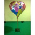 Balão Metalizado Branca De Neve - 10 Unid.