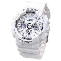 Relógio Casio G-shock Ga120a7a Branco Novo Original Na Caixa