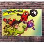 Poster Exclusivo Os Impossiveis Hanna Barbera Retro 42x30cm