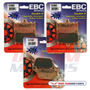 Kit Pastilhas Freio Ebc Fa158hh+fa174hh Bandit 650 1200 1250