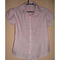 Camisa Tipo Camisete Feminina - Tam M = 96 Cm Busto.