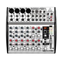 Mesa De Som Mixer 12canais Eurorack Ub1202fx Prata Behringer