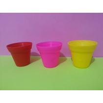 Lembrancinha Vasinho Plástico - Kit C 10 /várias Cores