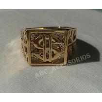 3 Anéis Masculino Dedeira Funk,dinheiro,diamante,cifrao,tony