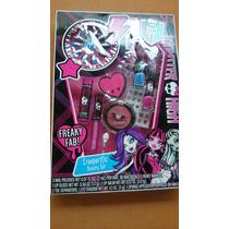Kit Maquiagem Monster High.