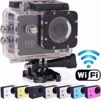 Câmera Esportiva Filmadora Prova Dágua Wifi Full Hd Sport