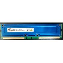 Memória Drdram Rambus 64mb/4 Samsung