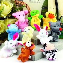 Kit De Dedoche - Animais - Brinquedo Pedagógico - Crianças