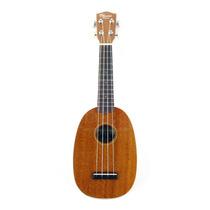 Ukulele Ohana Pk-10s Pinapple Soprano Mogno * Qualidade Kala