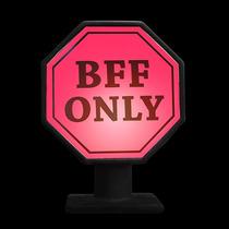 Luminária Placa Bff Only Usare