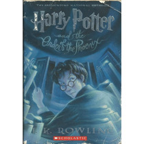 634 Lvs- Livro 2004- Harry Potter And The Order The Phoenix