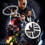 Colar Agentes Da Shield Marvel Vingadores - Pronta Entrega