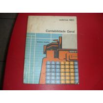 Livro Contabilidade Geral Caderno S Mec