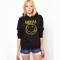 Blusa Nirvana Moletom Canguru - A Melhor !!!