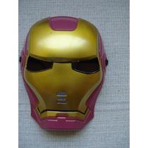 Mascara Homem De Ferro Festa Fantasia Iron Man