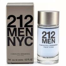 Miniatura Perfume 212 Men Nyc 7ml Masculino Carolina Herrera