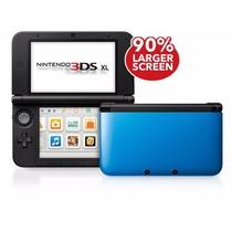 Nintendo 3ds Xl - Azul - Novo
