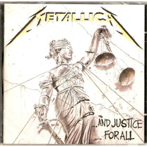 Cd Metallica - ...and Justice For All - Novo***
